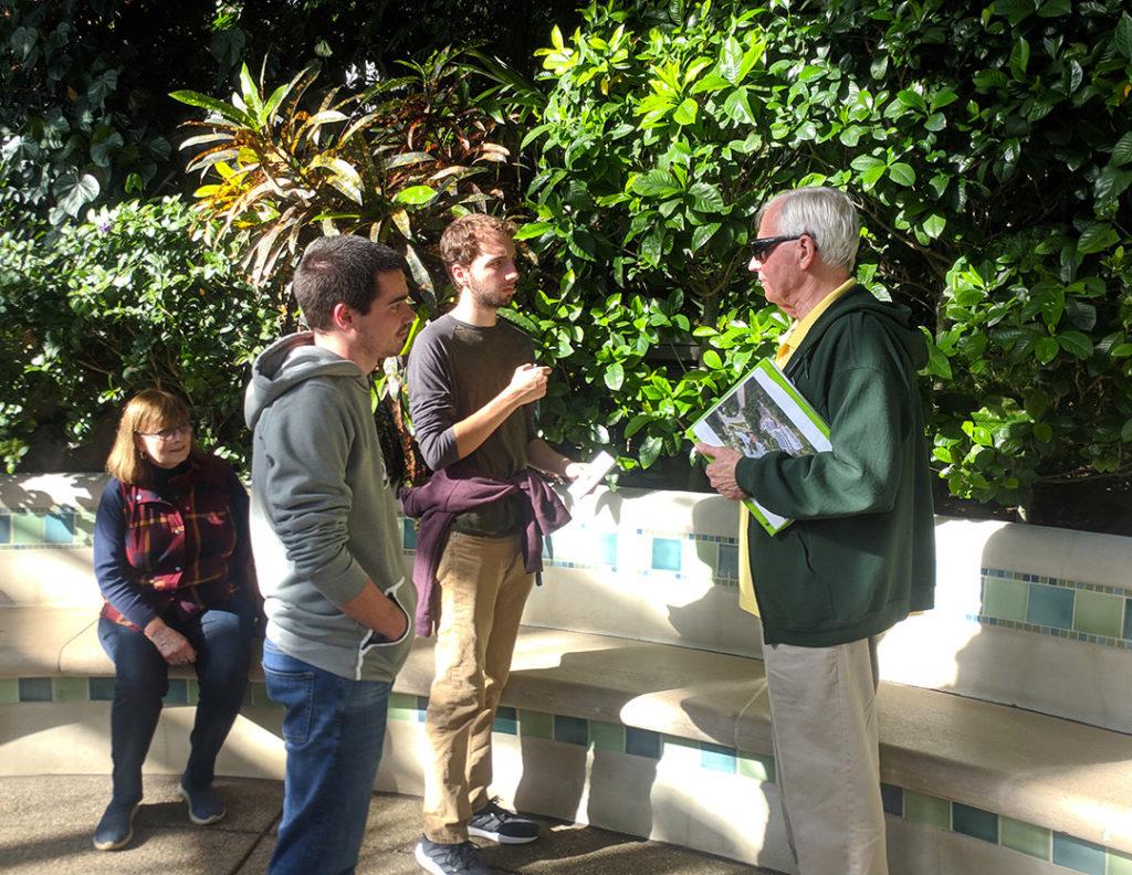 City Semester students visit Phipps Conservatory