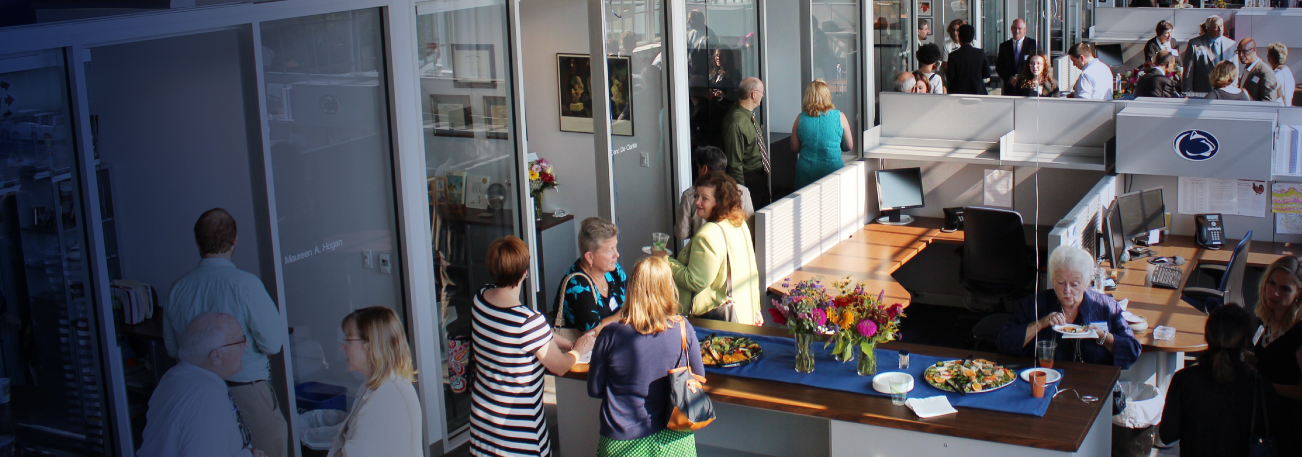 Reception at the Energy Innovation Center